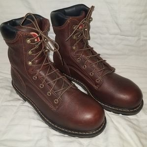 "NWOT RED WING IRISH SETTER 8"" work boots"
